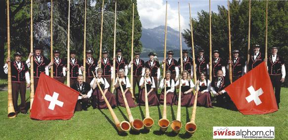 Alphornbläsergruppe Oberaargau
